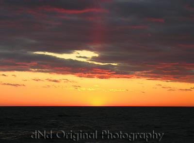 2006 Mich Trip 086 - Sunset enhanced