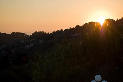 Sunset in Corsanico 2