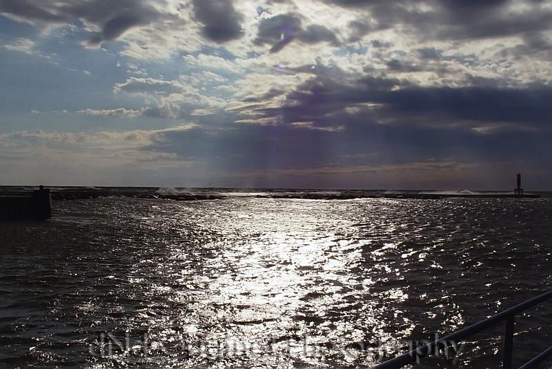 Lake Michigan Sunset & Rain