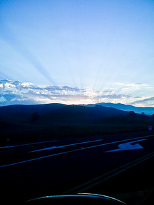 Sunrise in Danville Ca.  I captures this photo from the window of my car as I drove to work.