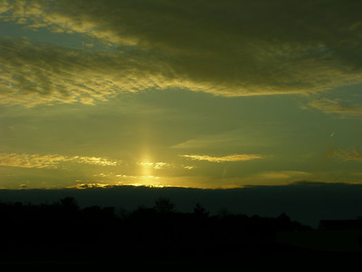 Sun Below the Clouds