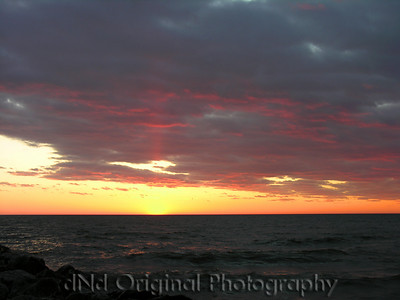 2006 Mich Trip 083 - Sunset