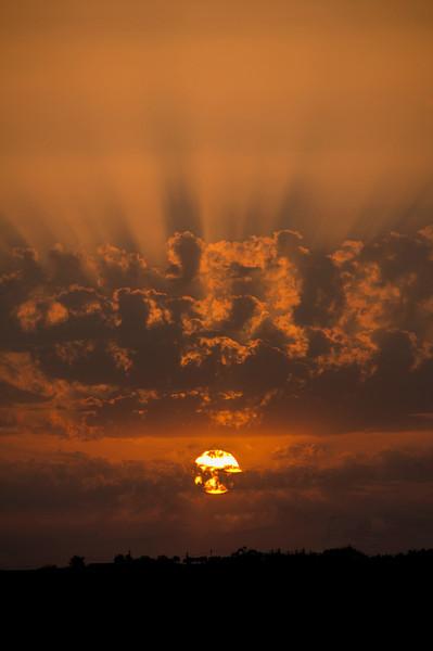 Sunset (Motta S. Anastasia Sicily, Italy