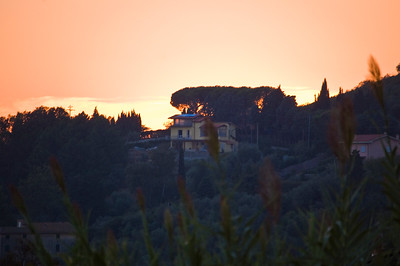 Sunset in Corsanico 3