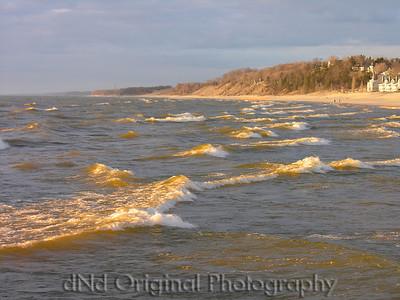 2006 Mich Trip 035 - Waves & Beach