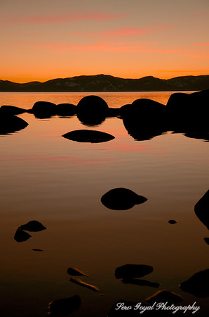 Tranquil Winter Sunset