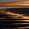Sunrise on the Beach Abstract