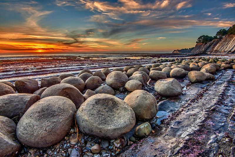 Bowling Ball Beach-Winter
