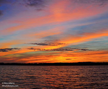 Sunrise at Percy Priest - 11/22/2014