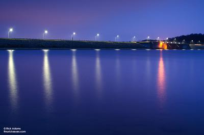 Bluing the Dam