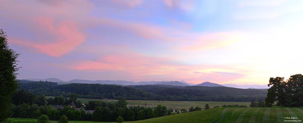 Sunset Panorama 1