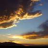Friday, September 30, 2011. Sunrise over Tucson, Arizona USA