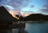 <h2>Sunset in Tahiti</h2>This was taken from our hut in Boro Boro on our honeymoon.