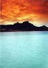 <h2>Sunrise on Bora Bora</h2>I used a gradient filter when I took this.