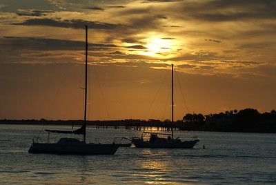 St. Augustine  Bay Sunrise