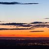 Sunset over Pendleton, Oregon