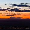 Sunset over Wildhorse Casino; Oregon