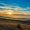 Sunset, Emigrant Hill, Oregon