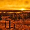 Sunset, McKay Reservoir, Oregon