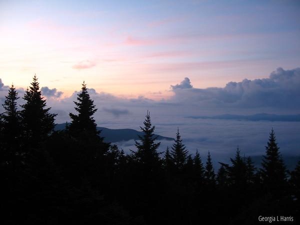 Long Trail, VT - Taft Lodge on Mt Mansfield