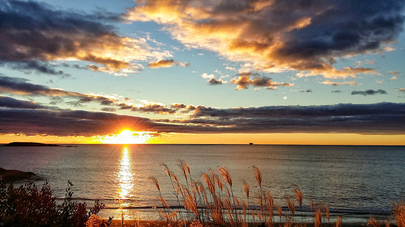 Sunrise on the Eastern Seaboard