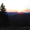 Icewater Spring Shelter Sunrise in the Smokies