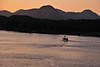 Sunrise arrival in Skagway, Alaska