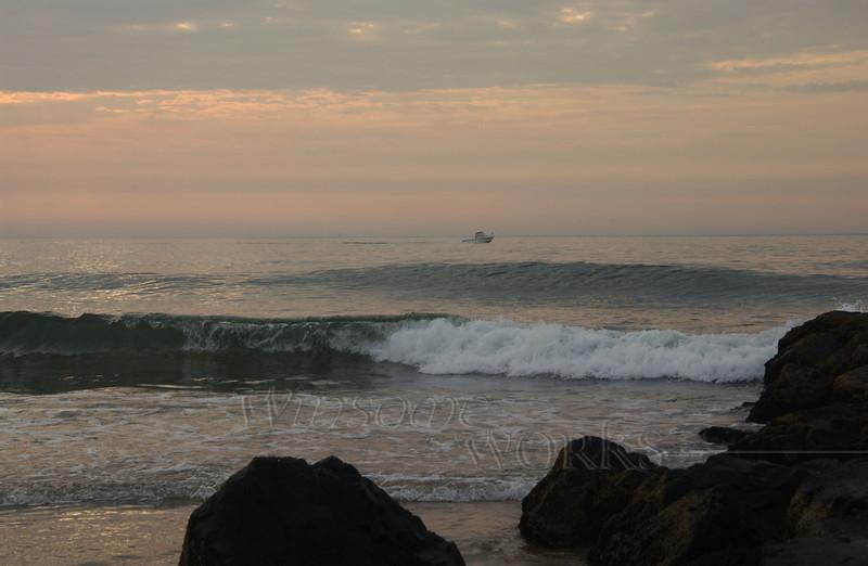 Ocean Grove Rock Jetty at Dawn