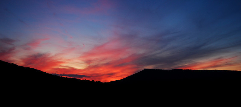 Sunset Over Back Hollow, WV (9/2009)
