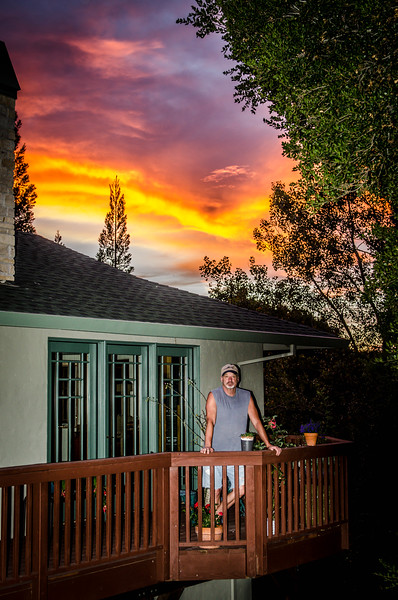 Sunset at Corral De Tierra June 2015