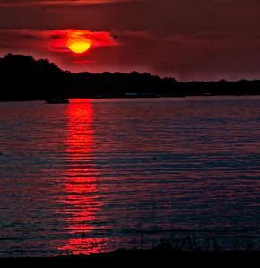 Sunset on White Bear Lake