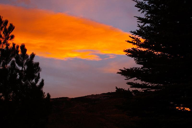 Cody, Wyoming Sunset