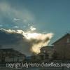 Clouds Near Sunset
