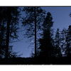 New moon, captured at the Arapaho Bay Campground in Colorado.
