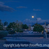 Moonrise over the Lazydays RV Park in Tucson