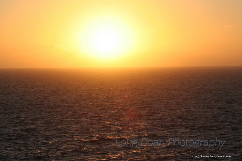Sunset on the Atlantic Ocean