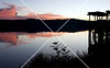 Sunset at Lake Acworth