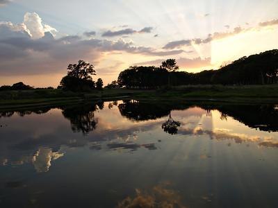 Sunburst Lake Fork Reflection  Order Code: A2