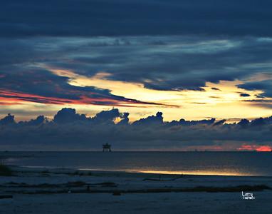 2009 Dauphin Island Sunset