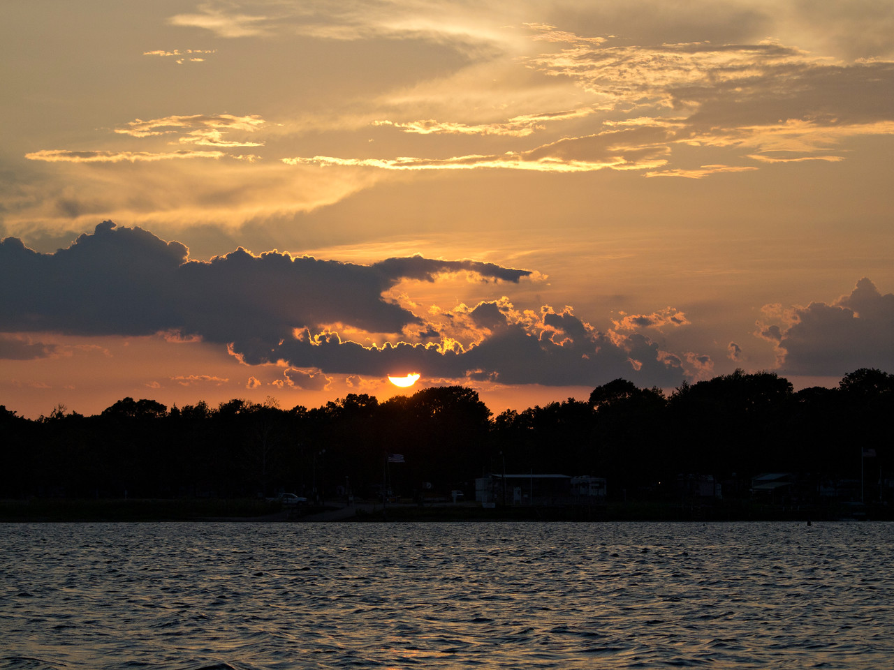 Sunset over Hideaway Harbor - Lake Fork, Texas  Order Code: B41