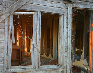 Reflection on  Abandoned  Sharecroppers' Home 2009