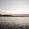 A gray sunset at Lake Dardanelle State Park, Russellville, AR.
