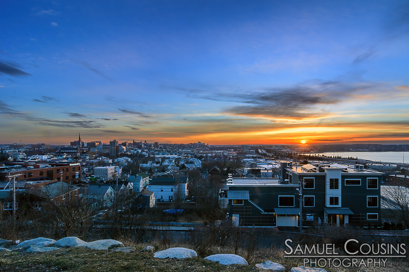 Sunset from Standpipe Park