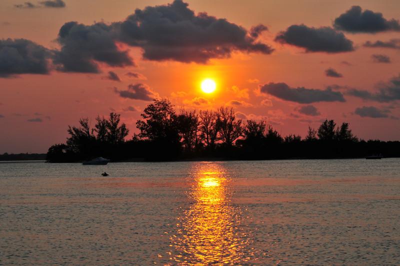 Sunset in Sebastian
