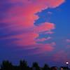 Sunset Over Delaware w UFO