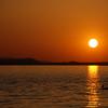 Sunset at Lake Dardanelle State Park.
