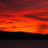 Sunset at Table Rock Lake, Branson, Missouri.