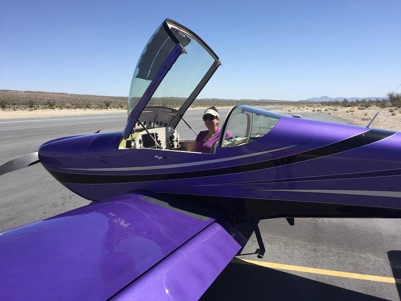 Ready to head back to Ramona. It is only 32 nautical miles, but you have to climb up and over the Cuyamaca mountains. The Santa Ana winds made this a pretty bumpy day to fly over the mountains.