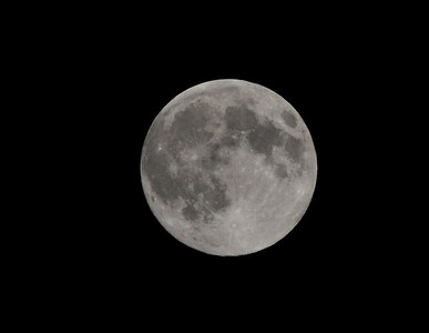 Supermoon captured around 11:30 6/22/13.