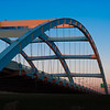 Susan B. Anthony Memorial Bridge over the Genesee River in Rochester, NY.